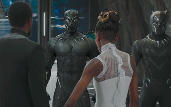 Marvel'ın sıradaki filmi Black Panther'den Türkçe dublajlı fragman