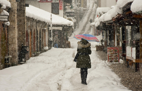 Hava sıcaklığı düştü kar yağışı başladı meteorolojiden 2 alarm