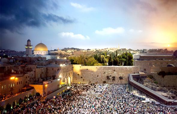 Kudüs önemi - Mescid-i Aksa, Ağlama Duvarı, Kutsal kabir kilisesi