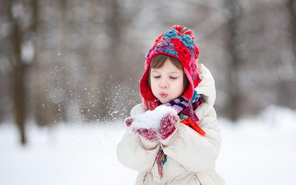 Düzce'nin Kaynaşlı ilçesinde kar tatili