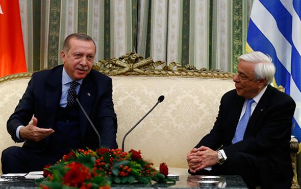 Erdoğan'dan Yunan mevkidaşına Lozan tepkisi!