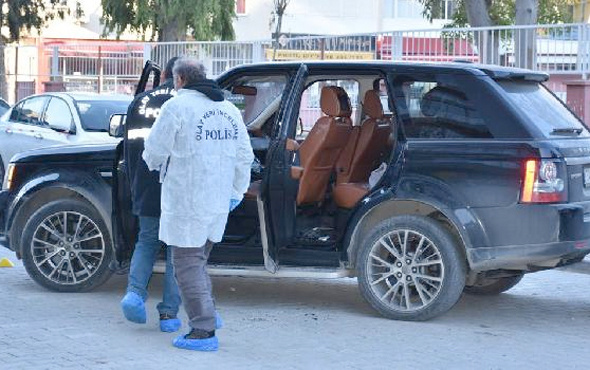 İzmir'de işadamına cipte silahlı saldırı