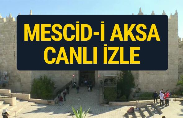 Mescid-i Aksa canlı yayın izle- Kudüs'te cuma namazı