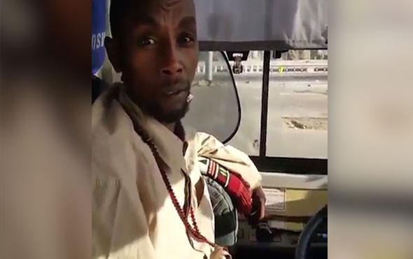 Mekke'deki Sudanlı şoförün Türkiye sevdası