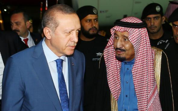 Cumhurbaşkanı Erdoğan Suudi Arabistan'da