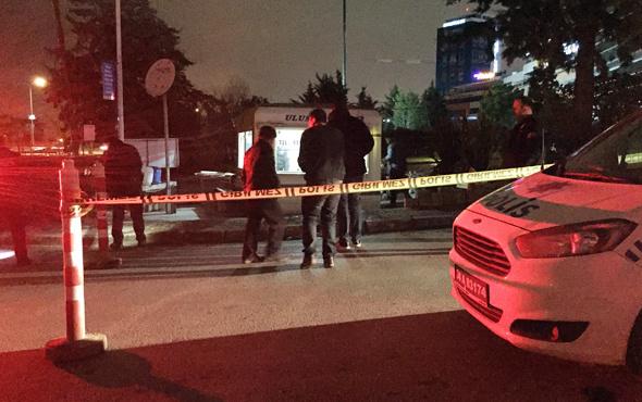 Maltepe'de taksi durağına silahlı saldırı