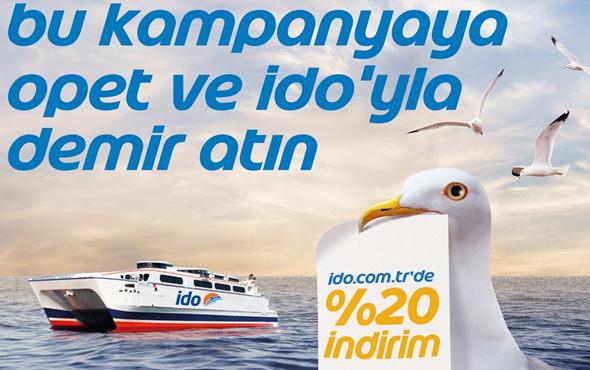 İDO'dan online bilet alan OPET'lilere indirim fırsatı