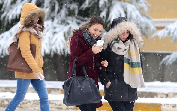 Çok kuvvetli kar geliyor hava durumu bu illerde kötü