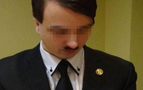 Kendini Hitler'e benzetti gözaltına alındı