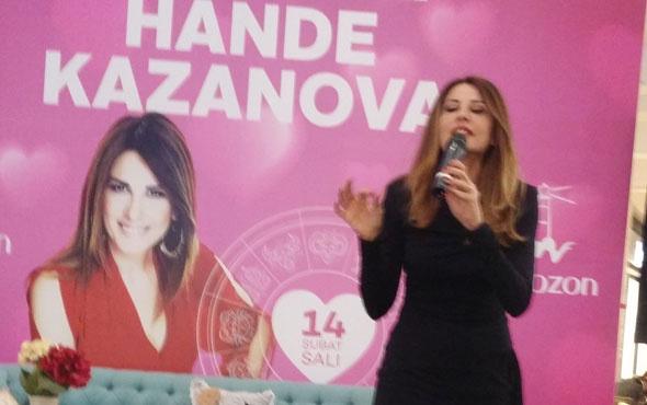 Hande Kazanova Trabzon'da büyük ilgi gördü
