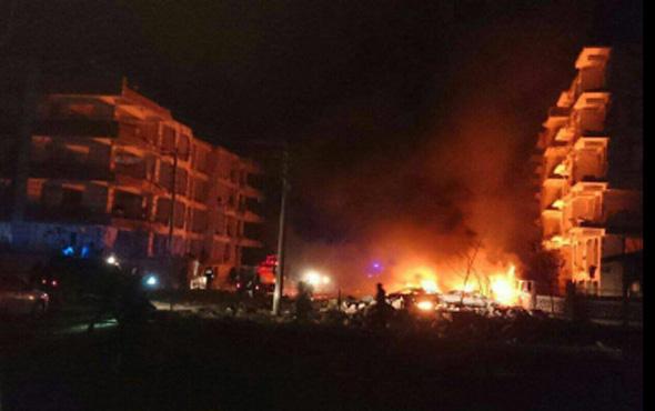 Şanlıurfa'da son dakika korkunç patlama!