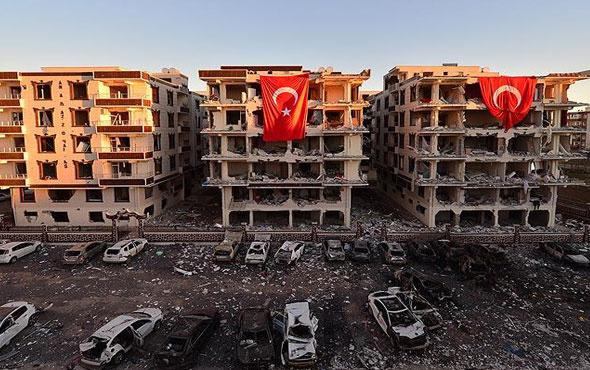 Viranşehir'de oluşan tahribat gün aydınlanınca ortaya çıktı
