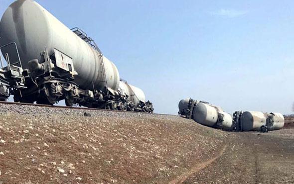 Diyarbakır'da yük trenine bombalı saldırı!