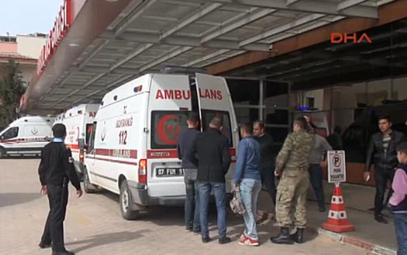 El Bab'da patlama oldu yaralı askerler var