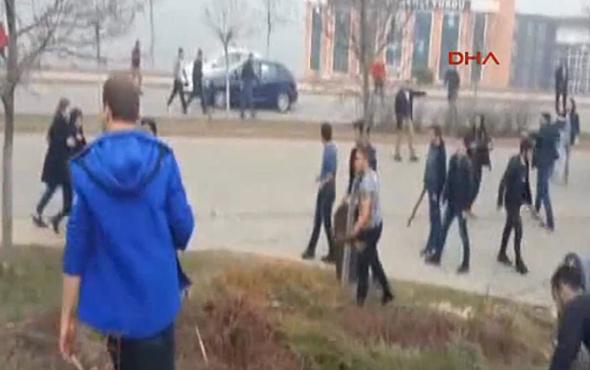 Kocaeli Üniversitesi karıştı yaralılar var 47 kişi gözaltında