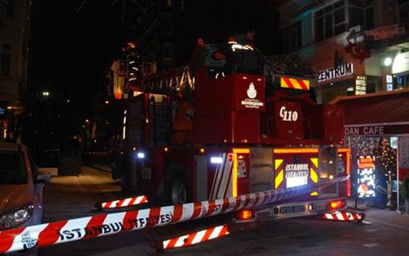 Taksim'de otel sorumlusunun feci ölümü