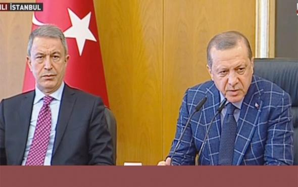 Erdoğan'dan flaş 'karargah rahatsız' açıklaması