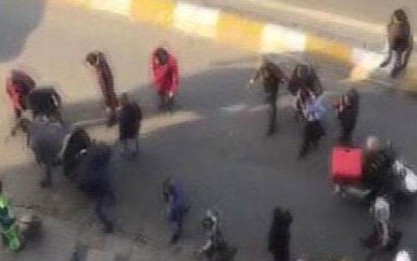 Taksim'in göbeğinde dehşet dakikaları