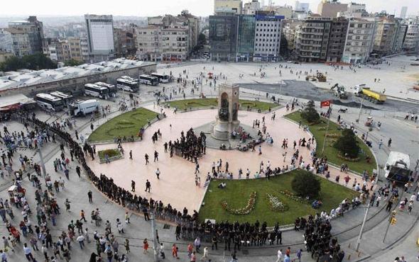 Taksim Camisi görüntüleri ilk kez yayınlandı