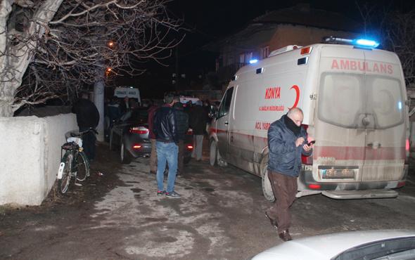 Cinayet zanlısı polisin önünde intihar etti