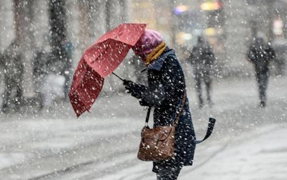 Hava durumu yine geliyor kar bu illeri vuracak