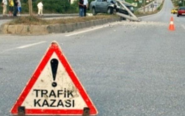 Dolmuş halk otobüsüne çarptı: 7 yaralı