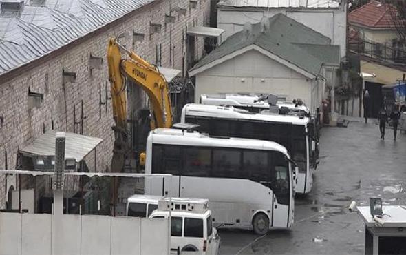 Taksim'de cami için ilk kepçe vuruldu