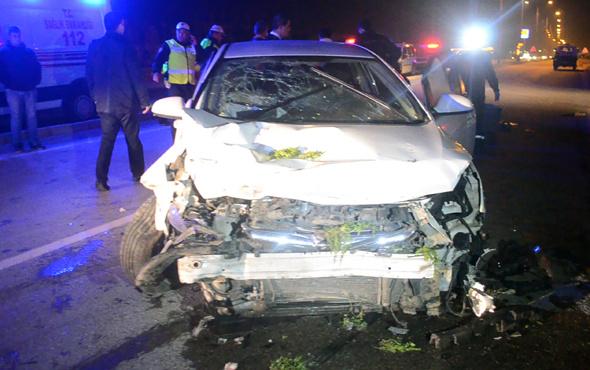 Cenaze evine giderken kazada öldü