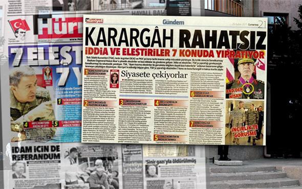 Hürriyet'ten ikinci 'Karargah Rahatsız' skandalı