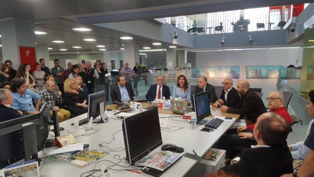 Hürriyet Gazetesi'nin tepe ismi Sedat Ergin böyle gitti