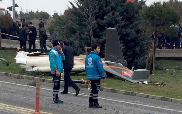 İstanbul'da son dakika helikopter düştü