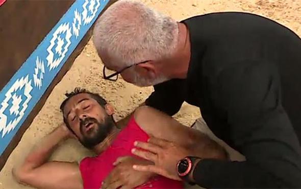 Survivor'da sakatlanan Serhat Akın'a doktor müdahalesi!