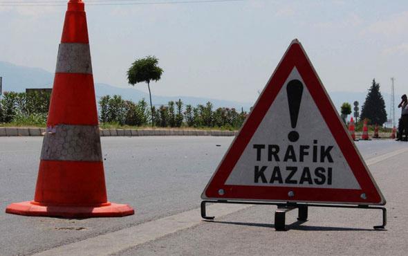 İstanbul'da feci kaza trafik felç oldu