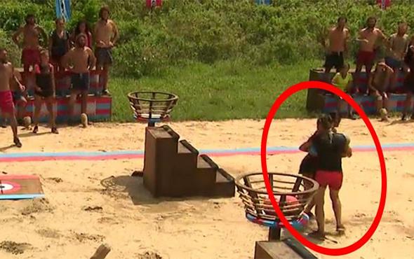Survivor'ın iki yarışmacısı oyun sırasında çarpıştı!
