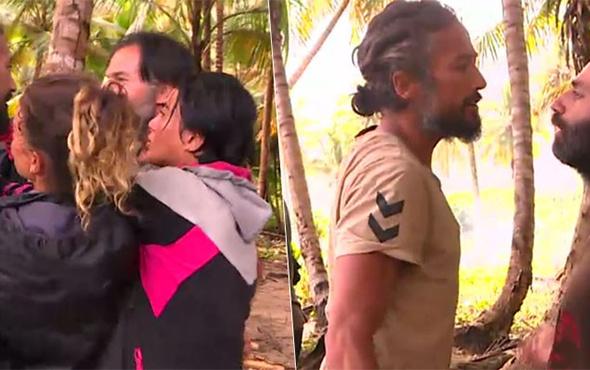 Survivor adası yine karıştı! Ünlüler birbirlerine girdi!
