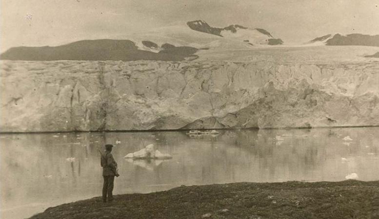 100 yılda buzulları bu hale geldi