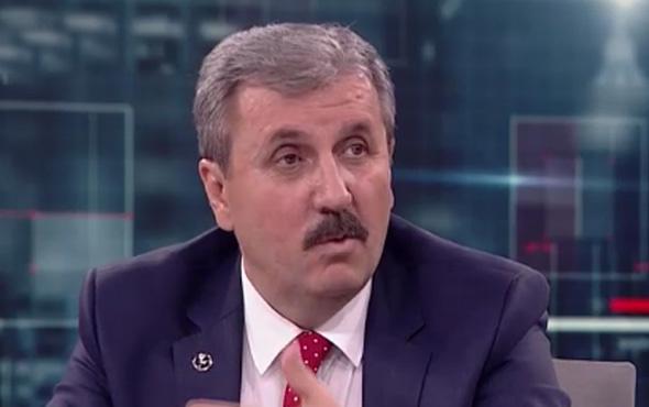 Mustafa Destici'den 'hayır' diyen partililerine uyarı