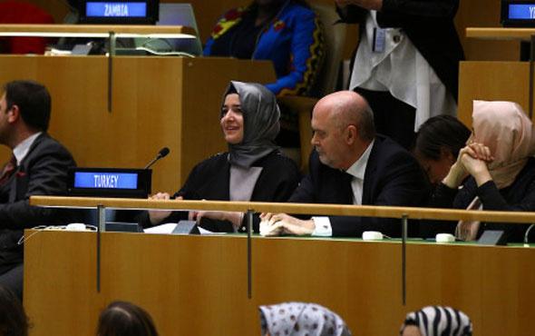 Bakan Kaya'dan BM'de tarihi konuşma