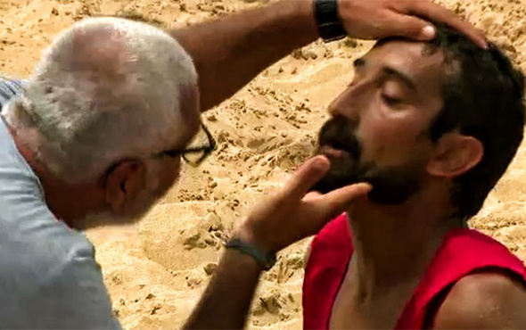 Survivor'da Serhat Akın bir anda yere yığıldı!