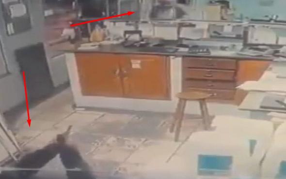 Kadın polis soyguncuyu böyle vurdu