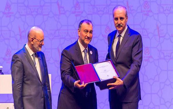 Sabri Ülker anısına Murat Ülker'e vefa ödülü