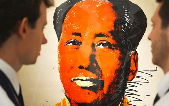 Andy Warhol'un Mao tablosu satışa çıkarılıyor