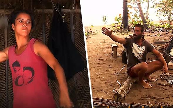 Survivor'da Adem ve Sabriye'nin kavga görüntüleri: 'Nankör!'