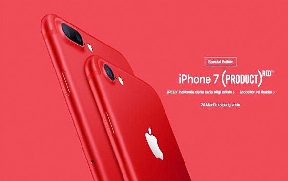 Apple kırmız İPhone'u piyasaya sürdü