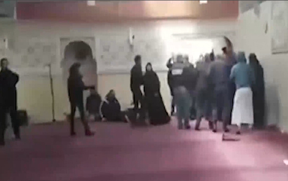 Fransa'da camiye çirkin saldırı!