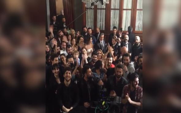 Erkan Petekkaya'dan 'Paramparça'ya veda videosu