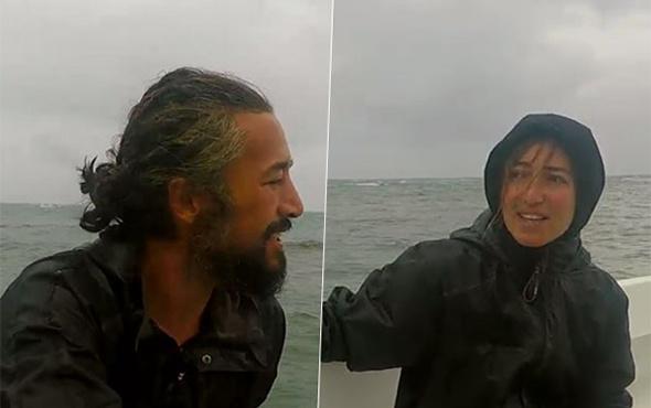 Survivor'ın ünlü isimleri teknede birbirine girdi!