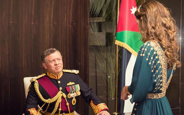 Ürdün Kralı Abdullah'ı eşi Kraliçe Rania solladı! Sıradan bir kızken...