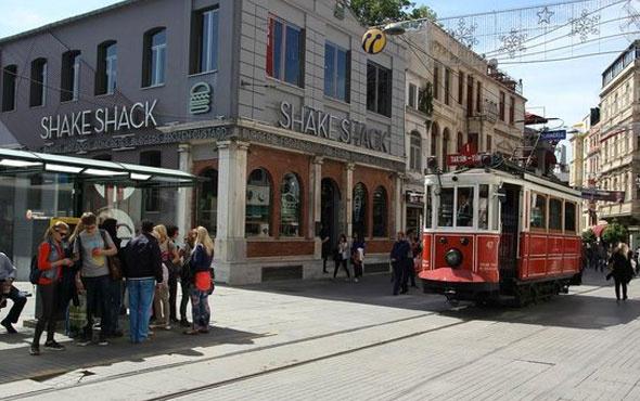 İstiklal Caddesi'ndeki ünlü hamburgerci kapandı