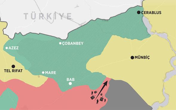 Münbiç neden önemli bu harita büyük çatışma çıkarır?